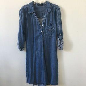 Velvet Heart Denim Dress/Tunic - Medium